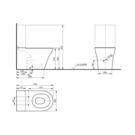Eco Toilet Dimensions by Toilet 2017 Toto Toilet Dimensions Toto Aquia Toto