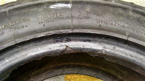tire bead damage repair torn rally gravel tire bead what are my options