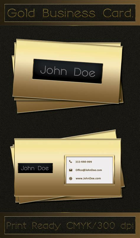 Car Wallpapers Free Psd Files Golden by Gold Business Card Free Psd By Sameehshkeer On Deviantart