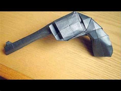 easy origami gun origami gun