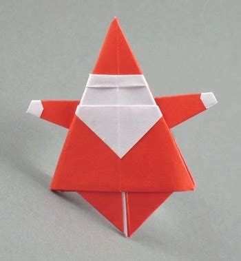 santa origami origami ornaments santa claus and