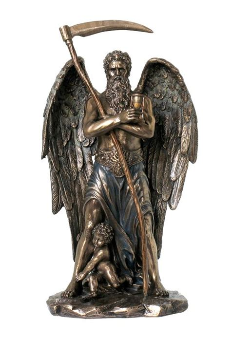 god statue god of time chronos mythological god statue