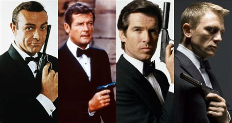 best of james bond ranking the james bond actors from worst to best moviefone