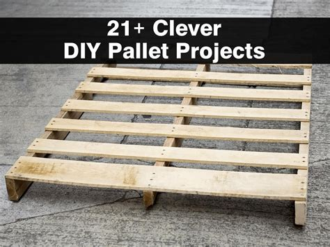 pallet craft projects 21 clever diy pallet projects