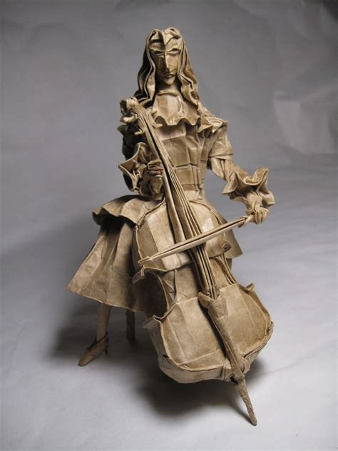 origami violin take a minuet to look at this amazing themed origami