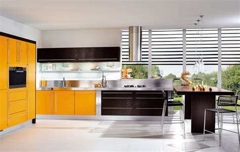 yellow and brown kitchen ideas brown yellow kitchen design stylehomes net