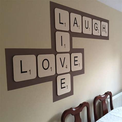 live scrabble live laugh scrabble wall tiles by copperdot