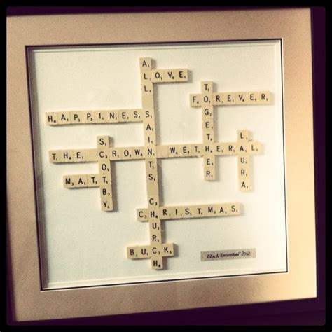 scrabble stuff wedding scrabble gifts