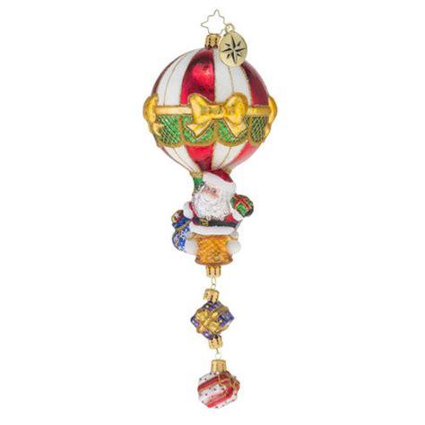 air ornaments air drop ornament by christopher radko