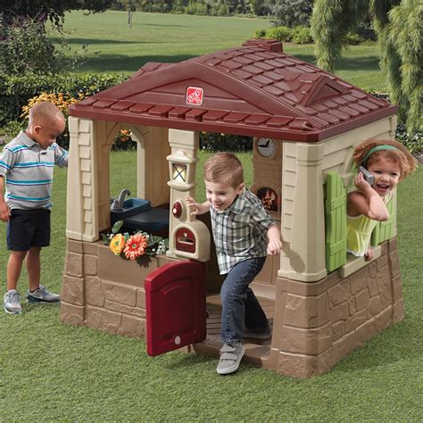 step2 naturally playful neat and tidy cottage neat tidy cottage ii playhouse step2