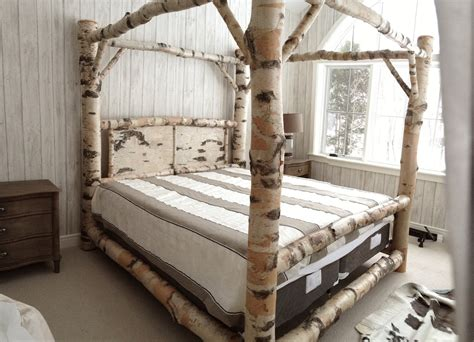 log wood bed frame marvelous ideas for build a wood canopy bed frame wood
