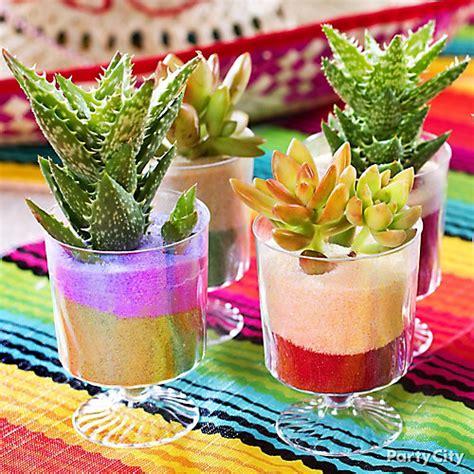 mexican decorations ideas mexican mini cactus decorations idea city