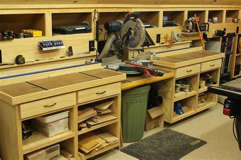 woodwork shop woodshop workshop 2nd floor of garage