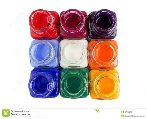 acrylic paint clipart a set of acrylic paint royalty free stock image image