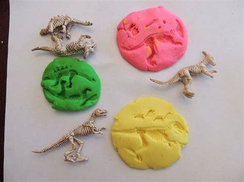 fossil crafts for diy dinosaur fossils teaching