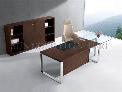 glass top office desk modern modern office desk with glass top office table with steel