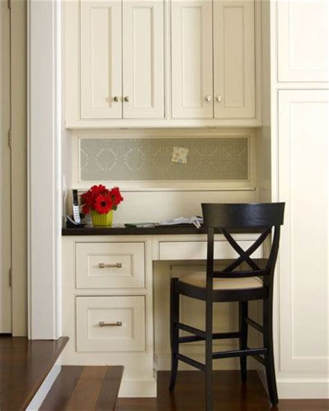 kitchen designs for small areas neat tidy kitchen desk office nook ideas