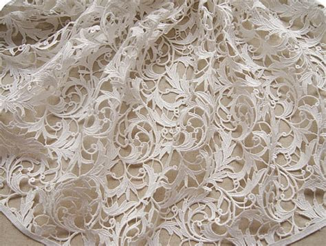 lace fabric white lace fabric venise lace fabric bridal crocheted