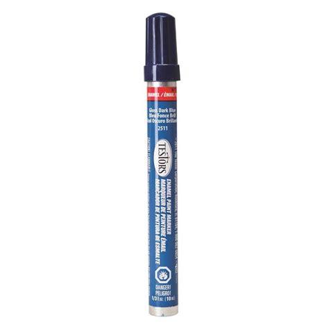 home depot paint pen testors blue gloss enamel paint marker 6 pack 2511c