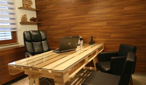 how to make office desk 19 diy pallet desks a way to save money and to