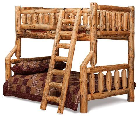 amish bunk beds amish log furniture rustic bunk beds