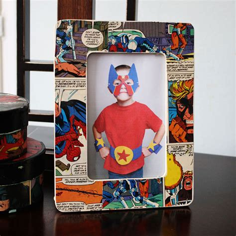 comic book picture frame comic book frame family crafts