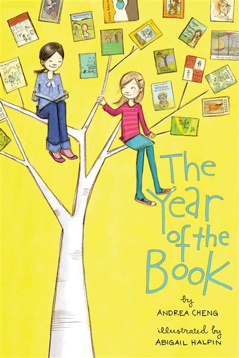 The Year Of The Book By Andrea Cheng Illustrated By