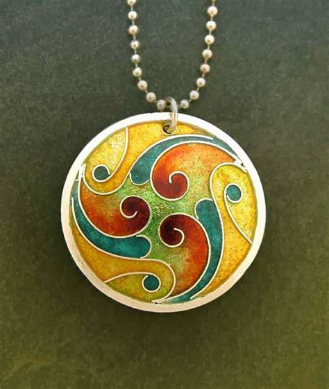 make enamel jewelry betty mckim jewelry october jeweler i lillian jones