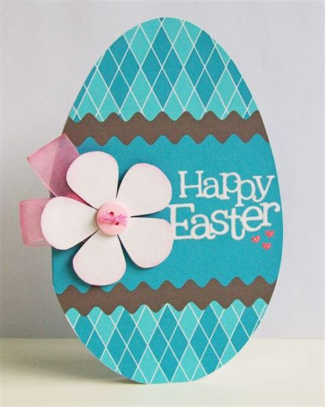 how to make shaped cards free creative ideas to make great easter cards 2014