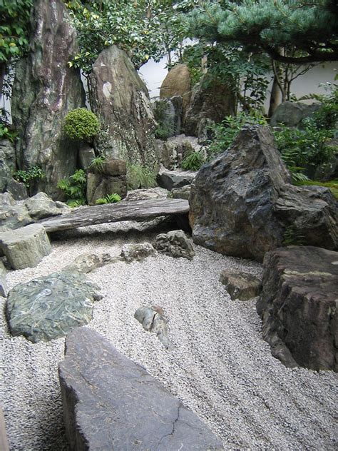 serenity of the japanese rock garden