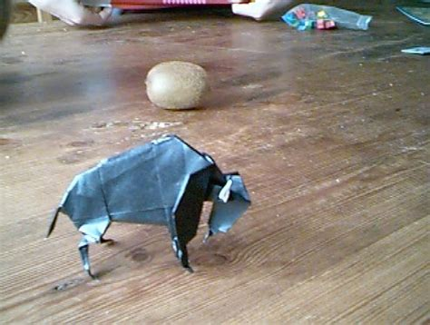 origami bison origami bison