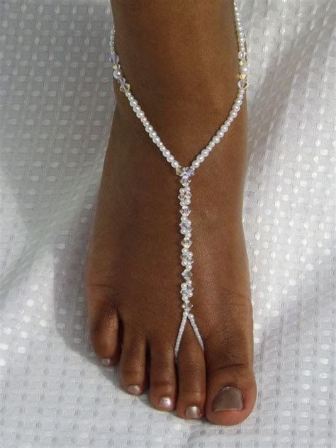 how to make foot jewelry sandals wedding barefoot sandals foot jewelry