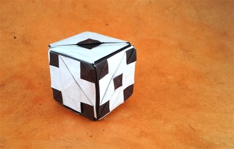 origami dice origami gilad s origami page