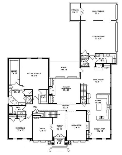 5 bedroom house plans 1 story single story 5 bedroom house plans best of 5 bedroom house plans 2 story home planning ideas