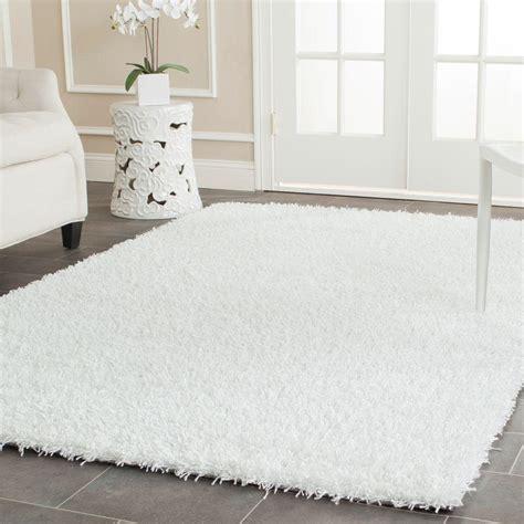 white shag area rug safavieh monterey shag white 8 ft x 10 ft area rug