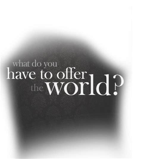 what do do pellegrino castronovo what do you to offer the world