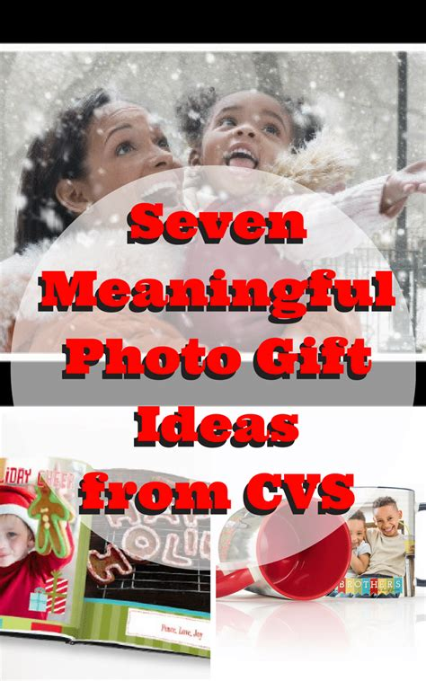 meaningful gift ideas seven meaningful photo gift ideas from cvs jenns blah