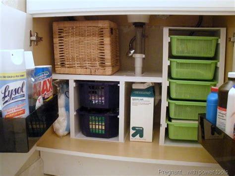 how to organize the kitchen sink the sink organizing tips storage organization