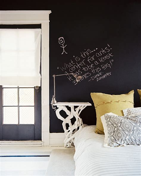 chalkboard paint in bedroom his and hers feminine and masculine bedrooms that make a