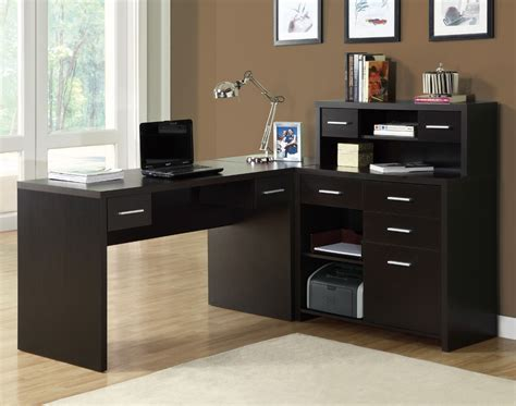 office desk for home monarch specialties 7018 l shaped home office desk in