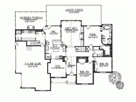 open concept ranch floor plans ranch home plans open concept cottage house plans