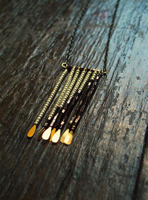 how to make beaded fringe beaded necklace ideas make a necklace by beading fringe
