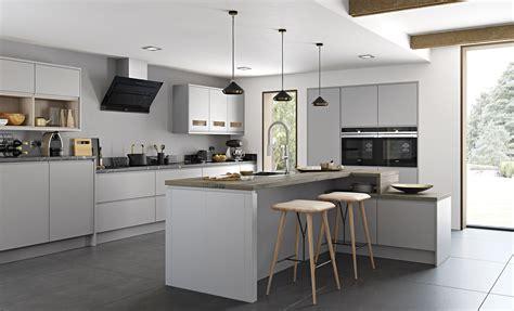 light gray kitchens strada matte contemporary light grey kitchen stori