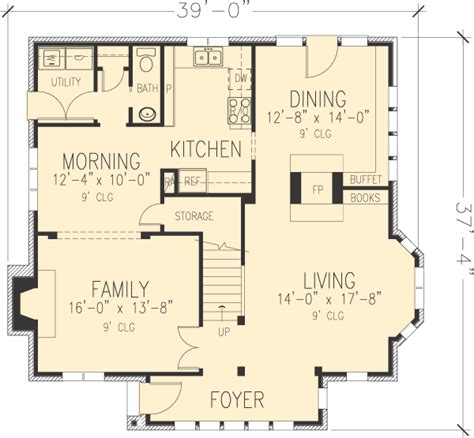 tudor mansion floor plans house plan 90348 at familyhomeplans