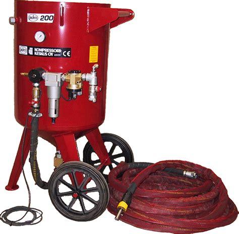 sandblasting suppliers sandblasting machine puhti 200