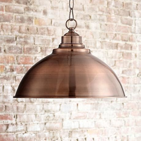 lights southton southton copper dome 13 1 4 quot wide pendant light 3f581
