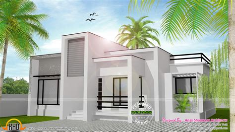 flat home design house details ground floor flat roof contemporary
