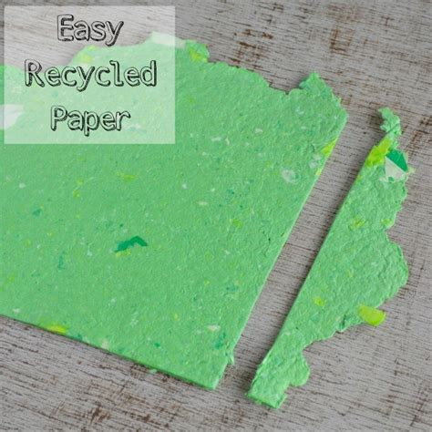 to make with paper how to make your own recycled paper without a mold or deckle