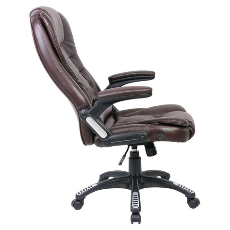 reclining office desk chair luxury reclining executive office desk chair faux