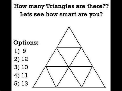 how many are there how many triangles